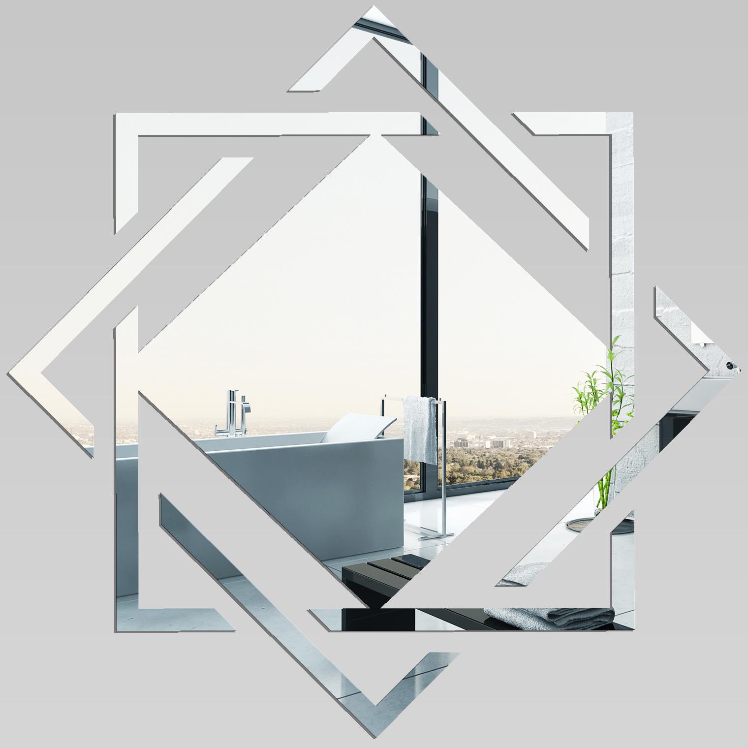 Naklejkascienna akrylowe lustro plexiglas design - Petit miroir rond pas cher ...