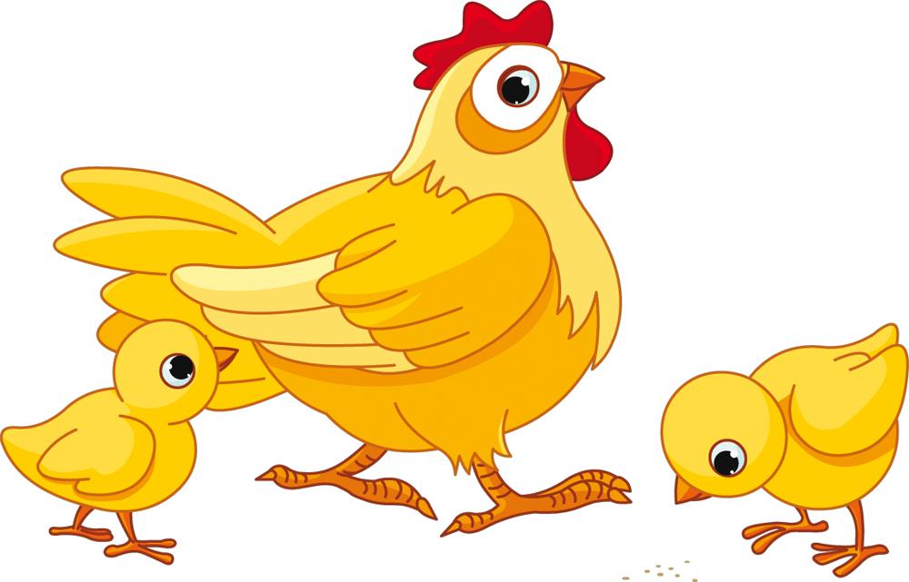 A Naklejka Cienna Dla Dzieci Kura I Kurczaczki 4776 on Free Egg Hatching Baby En