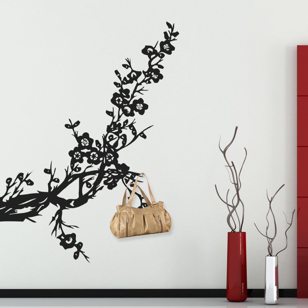naklejkascienna naklejka wieszak drzewo. Black Bedroom Furniture Sets. Home Design Ideas