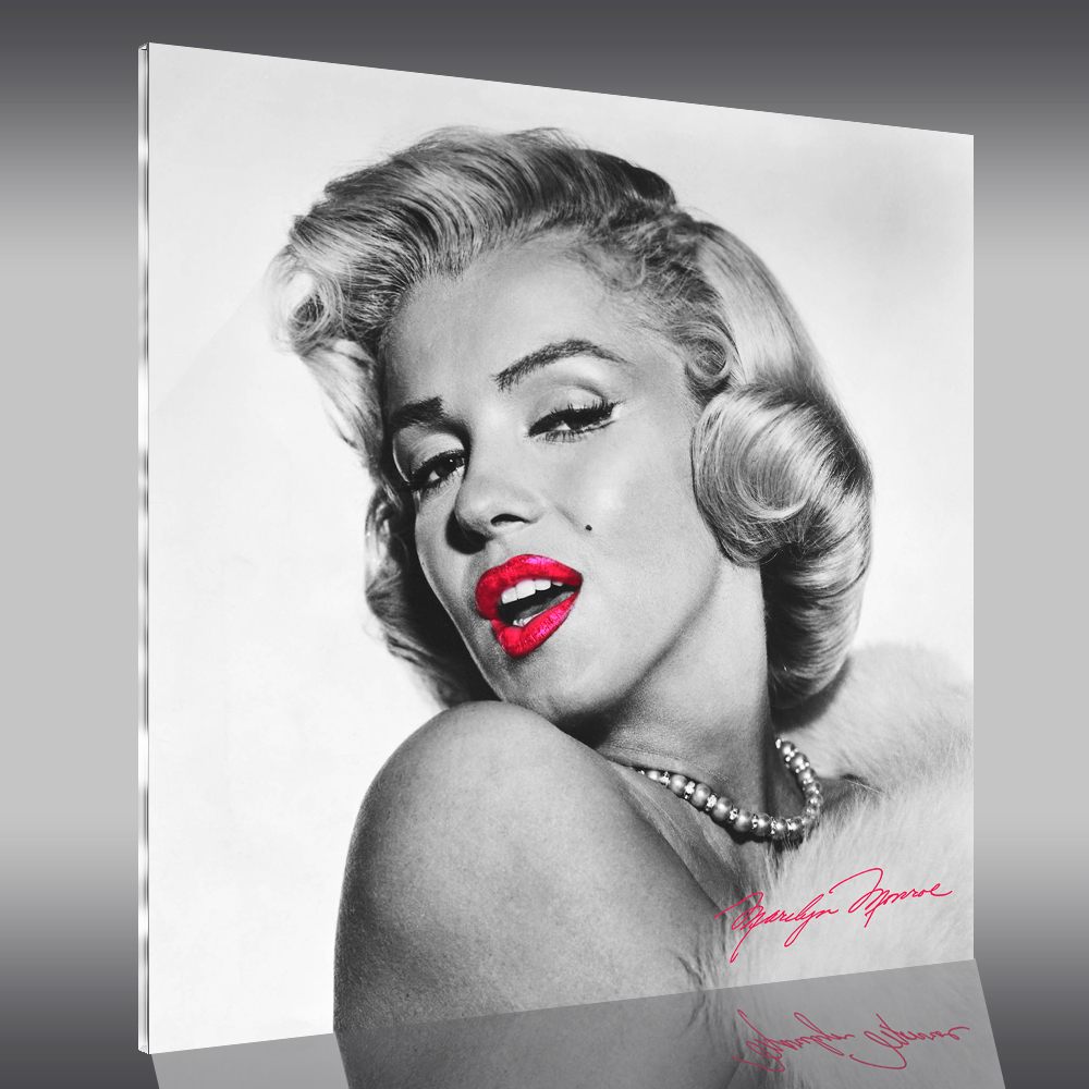 naklejkascienna obraz plexiglas marilyn monroe. Black Bedroom Furniture Sets. Home Design Ideas